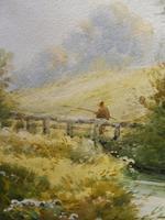 Watercolour Bates Brook Redhill Listed Artist H Rawson (9 of 12)