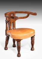 Rare William IV Period Desk or Library Chair (3 of 7)