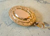 Antique Pocket Watch Chain Fob 12ct Gold Filled Decorative Fob (4 of 10)