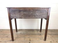 Georgian Oak Crossbanded Side Table (10 of 10)