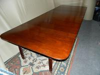Large Regency Mahogany Concertina Action Dining Table (8 of 9)