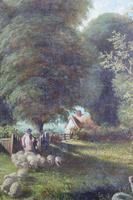 Fine Pair of English Landscapes - J J Hill (9 of 11)