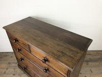 19th Century Antique Oak Chest of Drawers (9 of 12)
