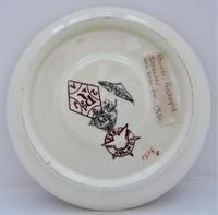 Powell, Bishop & Stonier Aesthetic period coffee cup and saucer, 1880 (3 of 8)