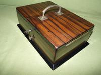 Macassar Ebony Jewellery / Trinket / Cigar Box c.1900 (9 of 11)