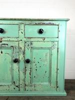 Victorian Antique Pine Painted Dresser Base Sideboard (2 of 14)