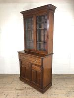 Antique 19th Century Two Stage Mahogany Bookcase (3 of 19)
