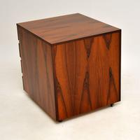 Danish Rosewood Filing Chest of Drawers Vintage 1960's (6 of 9)