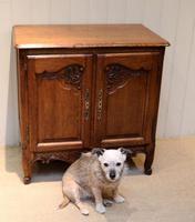 Vintage French Oak Side Cabinet (3 of 8)