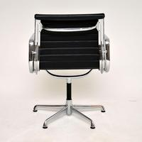 1970's Vintage Charles Eames Ea108 Leather Desk Chair by Icf (10 of 12)