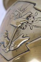 Antique Arts & Crafts Brass Planter / Jardinière (12 of 13)