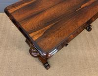 Early Victorian Rosewood Library Table (11 of 15)