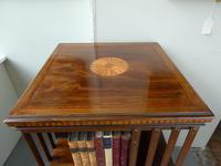 Fine Edwardian Revolving Bookcase (2 of 9)