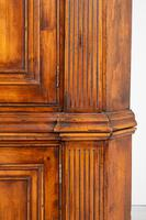 Cherry Wood Georgian Style Panelled Corner Cabinet (6 of 7)