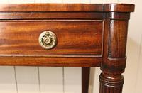 19th Century Regency Mahogany Side Table c.1820 (3 of 12)
