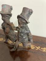 Victorian Bronze Top Hat Boy Figures (3 of 6)