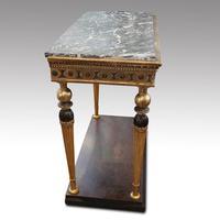 19th Century Swedish Gilt Console Table (4 of 10)