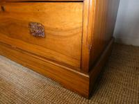 Large 19th Century Camphor Wood Colonial Chest of Drawers (10 of 11)