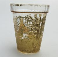 An Extremely Rare & Exceptional St Hubert Gilt Glass Beaker C.18th/early 19thc (8 of 10)