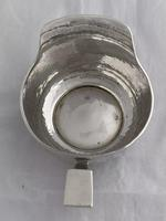 Antique Silver Cream Jug Arts & Crafts 1908 William Haseler Birmingham Sterling (10 of 11)