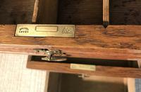 Victorian Oak Aesthetic Movement Desk (13 of 18)