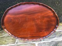Antique Mahogany Nest of 3 Tables (3 of 8)