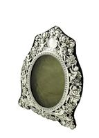 """Antique Victorian Sterling Silver 9"""" Photo Frame 1898 (2 of 11)"""