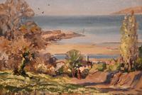 """Oil painting by Alec Caruthers Gould """"Porlock"""""""" (8 of 11)"""