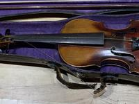 Violin & Case with Bow Victorian (6 of 12)