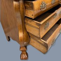 19th Century Dutch Walnut Chest of Drawers (9 of 10)