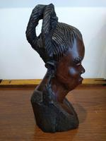 Ebonised African Tribal Tree Carving (2 of 8)