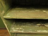 Green Rustic Painted Shelves Kitchen Storage, shabby chic Industrial Shelves (4 of 14)