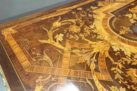 French Louis XVI Style Marquetry Card Occasional Table (9 of 13)