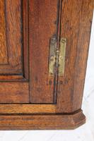 Small Georgian Oak Hanging Corner Cupboard (10 of 13)