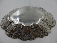Antique Victorian Silver Dish Sheffield 1897 (4 of 5)