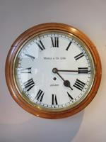Antique Single Fusee London Wall Clock (7 of 7)