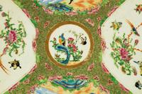 Late 19th Century Cantonese Porcelain Charger with Four Reserved Panels (3 of 5)