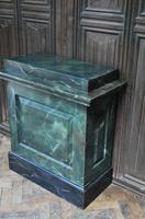 Original Painted Marble Pedestal (4 of 6)