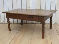 Antique French Ash Coffee Table (5 of 8)