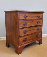 Antique Small Walnut Chest of Drawers (8 of 8)