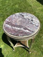 Original Paint & Gilt French Occasional Table (6 of 6)
