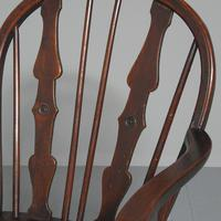 Victorian Elm & Mahogany Country Chair (3 of 8)