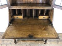 Early 20th Century Antique Oak Bureau Bookcase (7 of 17)