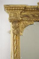 19th Century Gilt Overmantle Mirror with Bevelled Plate (6 of 12)