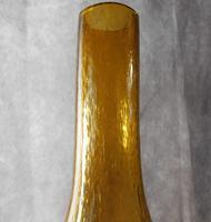 Art Nouveau, Amber Glass, Chamber Lamp (8 of 21)