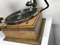 Horn Gramophone 1910 Oak Cased (4 of 7)