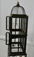 Wooden Canary Birdcage on Stand (2 of 6)