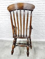 Large 19th Century Windsor Armchair (2 of 5)