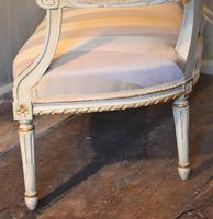 Fine Small Painted & Gilded Sofa (10 of 11)
