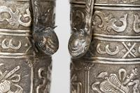 Chinese Pair of Qing Silver Metal Handled Lidded Containers (13 of 22)